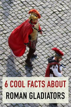 Want to know the truth about the Roman Gladiators? Click to discover 6 facts you may not already know...