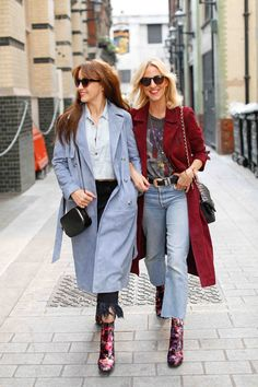MOOD: I spotted the Belle & Bunty girls at LFW in their suede coats and now I'm obsessed.  They look great worn open with denim and ankle boots.