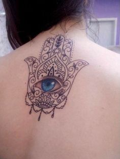 #inked #hamsa #indian #blackandwhite #tattoo #tatuagem #alineymarques
