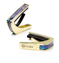 Thalia Guitar Capo With Blue Abalone Inlay By ThaliaCapos On Etsy