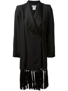 YVES SAINT LAURENT VINTAGE Tasseled Coat