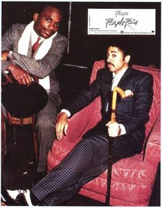 Morris Day & Jerome of The Time.