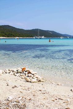 Saharun o Sakarun beach en la isla de Dugi Otok, Croacia. Visita mi web para ver más fotografías de Croacia: https://unachicatrotamundos.wordpress.com/2016/08/01/dugi-otok-la-isla-mas-bonita-de-croacia/