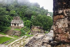 Mayan ruins Palenque Mexico -here is a post about our drive from the ruins at Palenque to San Cristobal. We checked out some ruins and got blocked in by the Zapatista (the peoples army protestors) for 6 hours. Check it out...