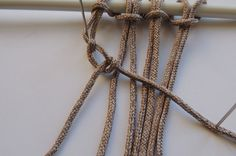 How To Make 6 Common Macrame Knots and Patterns | Red Heart