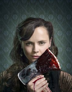Christina Ricci as Lizzie Borden in The Lizzie Borden Chronicles (2015)