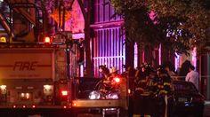 Tre persone sono state viste portare via in ambulanza, ma i feriti sarebbero…