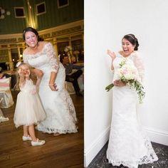 $185 - Glamorous 2016 Plus Size Mermaid Wedding Dresses Off Shoulder Half Sleeve Chapel Train Applique Cheap Ruffles Lace Bridal Gowns