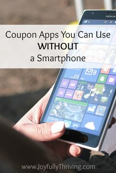 Coupon apps are a great way to save money on groceries. Did you know you can still use coupon apps without a smartphone? Here a couple coupon app options. Save Money On Groceries, Ways To Save Money, Money Saving Tips, How To Make Money, Groceries Budget, Classic Kitchen, Budgeting Money, Money Matters, Finance Tips
