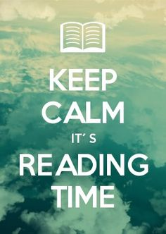 KEEP CALM it´s reading time