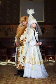 Kazakh bride and groom