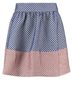 Mini skirts - navy blazer