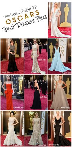 Oscars Best Dressed | Skirt PR's Picks