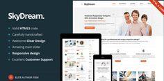 SkyDream  Responsive Multi-Purpose WP Theme #premium wordpress themes free #best free premium wordpress themes #wordpress premium themes free #wordpress premium themes download
