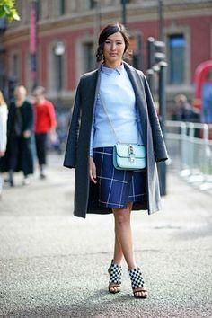 Street Chic London Fashion Week Spring 2014 - London Fashion Week Street Style Photos - Elle Nicole Warne