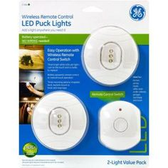 Lightwaverf Wireless Controlled Led Light Twin Pack With