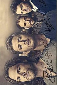 Your pins have just been signed by Jared Padalecki,Jensen Ackles,Misha Collins,and Mark Sheppard :D enjoy>> AHHHHHH ❤❣