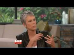 Jamie Lee Curtis on The Talk about NCIS and Mark Harmon - YouTube
