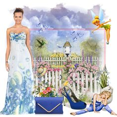 Blue by joumana-diab-taha on Polyvore