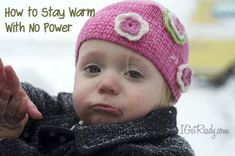 Taking the chill out of winter, How to stay warm without power - I Get Ready
