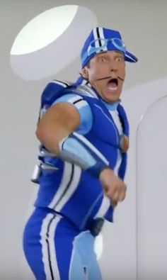 and sportacus saving the day