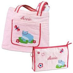 Frog Tote and Toiletry Bags | Lillian Vernon - Personalized Gifts for Kids | Lillian Vernon