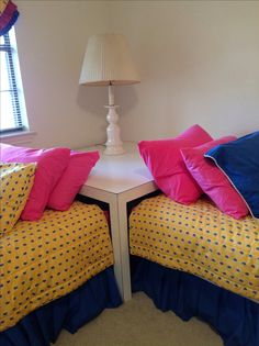 Make An Quot L Quot Shape To Get Two Twin Beds Into A Small Guest
