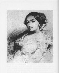 Solange Sand, la fille de George Sand peinte par Clésinger.