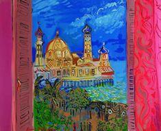 Raoul Dufy - Casino at Nice watercolor