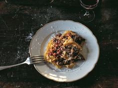 Cook this: Sardinian ragu with saffron tagliatelle from Old World Italian | National Post Mimi Thorisson, Poached Pears, Pasta Machine, Rolling Pin, Cherry Tomatoes, Old World, Pasta Recipes, Italian Recipes