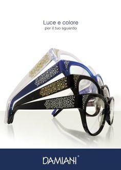Damiani Occhiali, tradizione e innovazione nel mondo della tua vista. Produciamo occhiali con materiali 100% italiani. I nostri strass sono applicati uno ad uno dai nostri esperti artigiani.