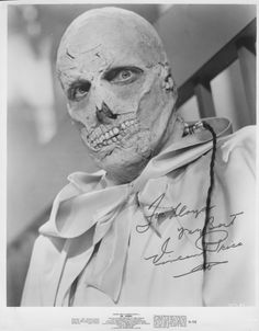 Vincent Price as Dr Phibes