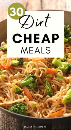 When we talk about dirt-cheap meals, we don't need to think of unhealthy food options. I'm personally not a fan of canned or...
