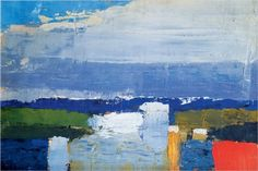 Nicolas de Staël (French, 1914-1955) - noon -landscape.jpg