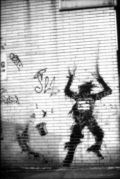 Richard Hambleton - Shadowman, New York