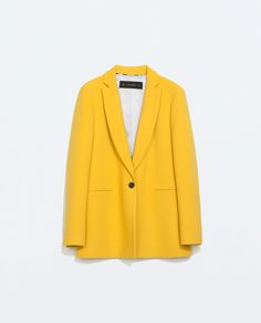 Image 8 of LONG BLAZER WITH CONTRAST CUFFS from Zara