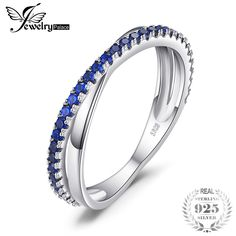 Round ct Created Blue Spinel Trendy Wedding Bands Rings For Women Real 925 Sterling Silver Anniversary Jewelry Womens Wedding Bands, Wedding Ring Bands, Trendy Wedding, Wedding Gifts, Silver Anniversary, Anniversary Jewelry, Dresser, Rings Online, Fashion Pictures