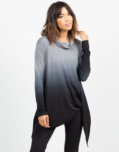 Oversized Ombre Top