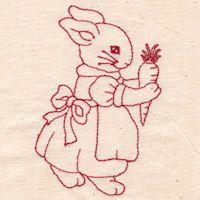 Girl rabbit