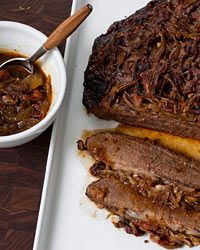 Holiday Beef Brisket with Onions Recipe on Food