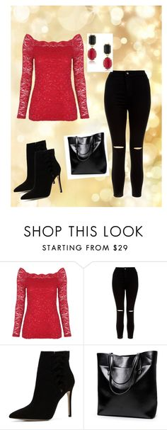 """""""fashion"""" by adi10fashion ❤ liked on Polyvore featuring beauty, New Look, ALDO and 1st & Gorgeous by Carolee"""