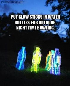 Nighttime bowling