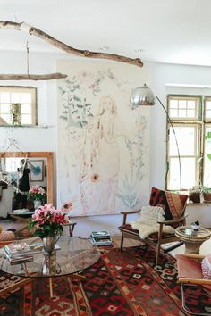 hippie home interieur - Startpage Picture Search Bohemian House, Bohemian Interior, Home Interior, Bohemian Decor, Interior And Exterior, Interior Decorating, Interior Design, Bohemian Living, Hippie Bohemian
