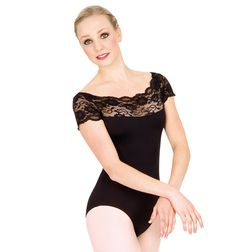 Gaynor Minden Short Sleeve Leotard I'm not a dancer but I have this leotard and I wear it with skirts when it's dressy-time! The only people who know it's a leo happen to be dancers.