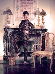 1950s does 1920s. Rosalind Russell/Auntie Mame, 1958