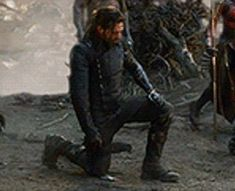 Bucky, kneeling and bowing his head to show respect to the man he owes so much. He clenches his fist with the realization he would never be able to make peace with the man whose parents the Winter Soldier took. Marvel Films, Marvel Heroes, Marvel Avengers, James Barnes, Winter Soldier Bucky, Bucky And Steve, Dc Movies, Marvel Funny, Stucky