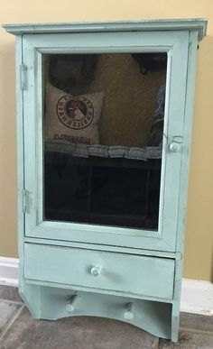 Vintage / Shabby Chic Shaver's Cabinet