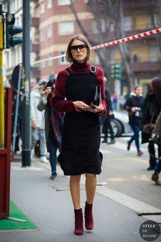 Milan Fashion Week FW 2016 Street Style: Giorgia Tordini