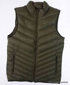 67a8b6f36be5 NIKE Mens sz Small Cascade Down Fill Vest Jacket Lightweight Warm  Breathable NEW
