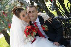 Невеста прекрасна, прическа и макияж подчеркнули её красоту, создается счастливая семья на долгие года. Стилист-визажист Субботина Ирина | +7 916 910 56 34 vk.com/stylistnadom